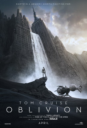 Poster Oblivion 2013