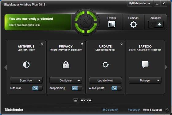 Antivírus Bitdefender Plus 2014