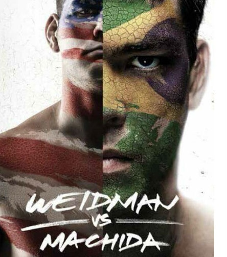 UFC 175-Lyoto Machida-Chris Weidman